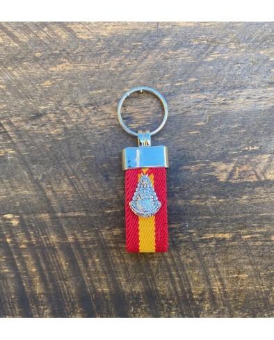 Llavero Virgen del Rocío España