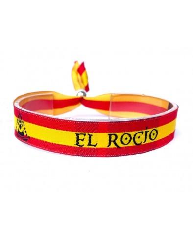 Pulsera El Rocío bandera España