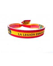 Pulsera de tela La Legión Española