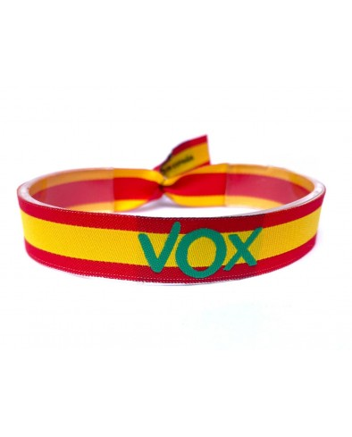 Pulsera de tela Vox